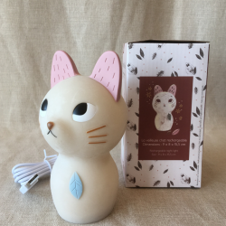 veilleuse chat rechargeable